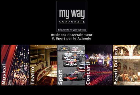 MY WAY CORPORATE – La tua finestra su un mondo di eventi